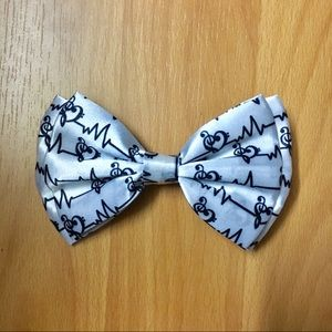 Music Note Hair Bow